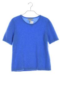 SUTTON STUDIO - kurzarm- strick-pullover aus 100% kaschmir  - L