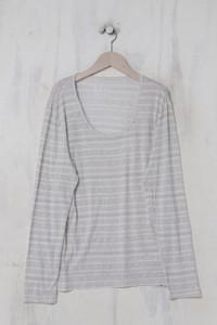 TCHIBO - norweger- longsleeve-shirt  mit viskose - D 44-46