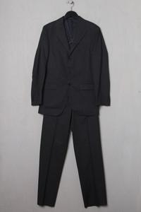 Massimo Dutti - anzug aus baumwolle mit nadelstreifen - 44