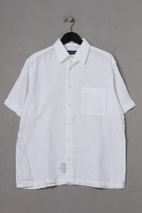 Marc O´Polo - kurzarm-hemd mit logo-print - M
