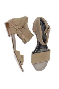 ALBERTO FERMANI - veloursleder-sandalen -
