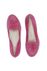 ATTILIO GIUSTI LEOMBRUNI - veloursleder-loafer mit schleife -