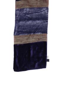 Skondras - schal aus viskose im patchwork-stil -