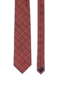 strellson - seiden-krawatte mit karo-muster -