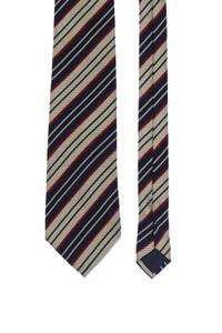 Ashley&Blake - seiden-krawatte mit streifen -