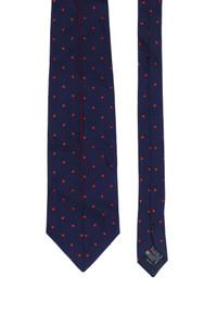 Gastromode Klausner - seiden-krawatte mit punkten -