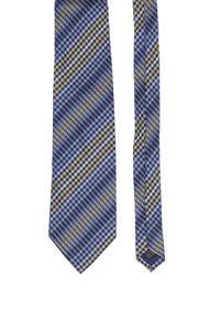 CONWELL - seiden-krawatte mit karo-muster -