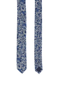 LIBERTY - baumwoll-krawatte mit floralem muster -