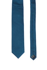 PELO since 1870 - seiden-krawatte mit karo-muster -