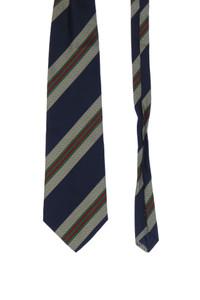 Derby - seiden-krawatte mit streifen -