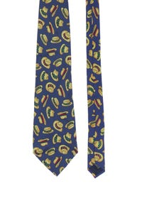 STEFANEL - seiden-krawatte -