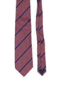 COLLEZIONE VILLA MORI - seiden-krawatte mit streifen -
