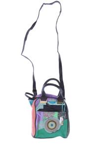 Desigual - bucket bag/beutel-tasche im ethno-stil mit logo-prägung - ONE SIZE