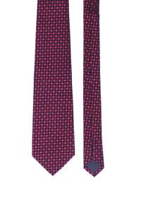 FLORENTINO - seiden-krawatte mit karo-muster -