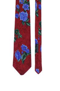 LEONARD PARIS - seiden-krawatte mit floralem muster -