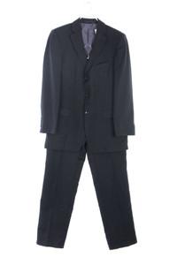 strellson - anzug aus schurwolle mit nadelstreifen - 48