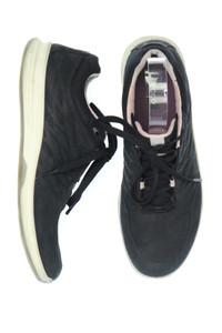 ecco - low-top sneakers aus echtem leder -