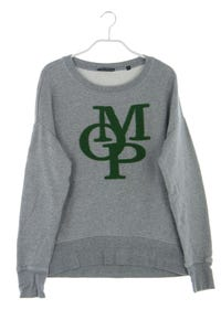 Marc O´Polo - sweatshirt aus baumwolle mit logo-applikation - S