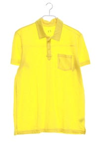 AX ARMANI EXCHANGE - baumwoll-polo-shirt mit logo-stickerei - L