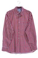 TOMMY HILFIGER - kariertes button-down-hemd aus baumwolle mit logo-stickerei - L