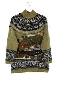 SPORTALM KITZBÜHEL - norweger-strick-pullover mit merinowolle - M