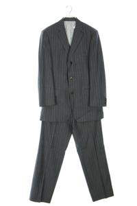 BOSS HUGO BOSS - anzug aus schurwolle mit nadelstreifen - 48