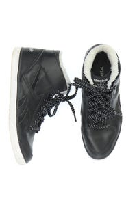 Reebok - high-top sneakers aus echtem leder mit logo-print -