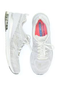 SKECHERS - glitzer-low-top sneakers mit logo-patch -