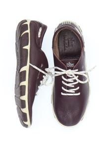 tbs - low-top sneakers aus echtem leder -