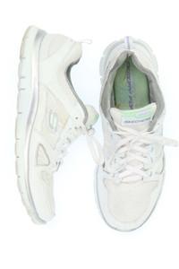 SKECHERS - low-top sneakers mit mesh-einsatz -