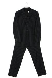 BOSS HUGO BOSS - schurwoll-anzug aus schurwolle mit streifen - 48
