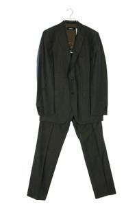 strellson - anzug aus schurwolle mit streifen - 50
