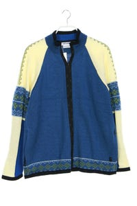 DALE OF NORWAY - muster-jacke aus wolle - L