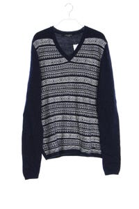 GUESS by Marciano - norweger-strick-pullover aus woll-mix mit alpaka - M