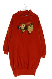 Sweet Mama - long-sweatshirt mit print - M