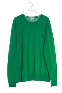 LACOSTE - pullover aus baumwolle mit logo-stickerei - L