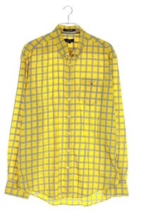 GANT - kariertes button-down-hemd mit logo-stickerei - XL