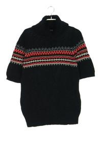 BIAGGINI - kurzarm-strick-pullover aus baumwolle - M