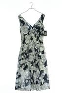 lisa malo - kleid mit blumen-print - D 34