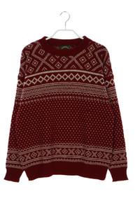 ALPS - norweger-schurwoll-pullover - M