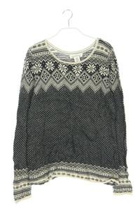 H&M LOGG - norweger-strick-pullover mit alpaka - M