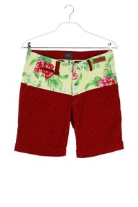 TWOANGLE PARIS - sommer- shorts mit tropical print - D 32