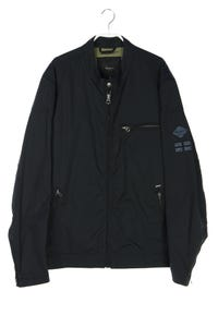 Pepe Jeans London - zipper-jacke mit elbow patches - XXL
