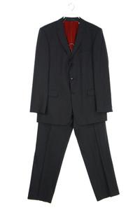 strellson - anzug aus schurwolle mit streifen - 52