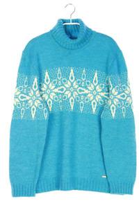 steffner - muster-strick-pullover mit alpaka - D 42