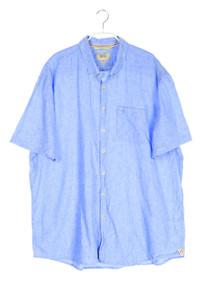camel active - kurzarm-hemd mit button-down-kragen mit leinen - XXL
