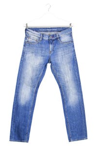 MUSTANG - used look tapered jeans - W31