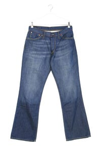 Pepe Jeans London - used look bootcut-jeans mit logo-patch - W34