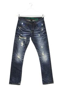 one green elephant - destroyed slim-jeans - W31