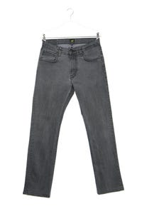 Lee - straight cut jeans mit logo-patch - W31